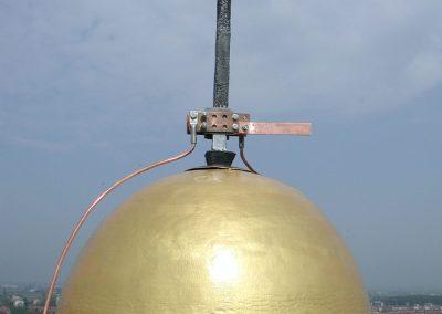 Campanile San Giovanni in Persiceto - Gabbia di Faraday